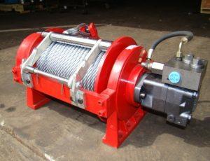 Recovery hydraulic winch truck winch-1